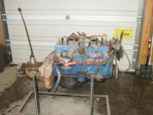 1946 Dodge 6-Cylinder Flathead Engine and Transmission