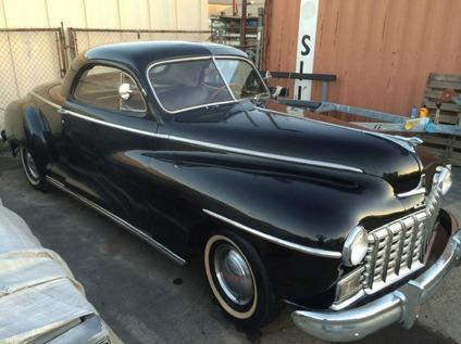 1946 Dodge Business Coupe Original Three Window Rare
