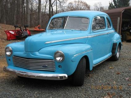 1946 FORD DELUXE COUPE  free shipping  350 V8 2 DOOR