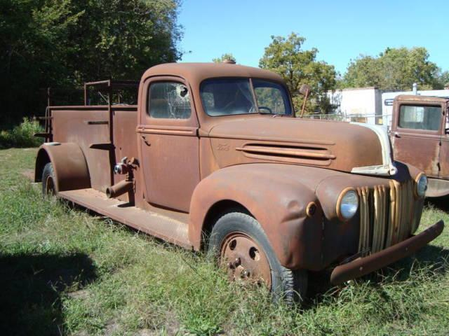1946 ford general fire truck for sale in co bluffs iowa classified. Black Bedroom Furniture Sets. Home Design Ideas