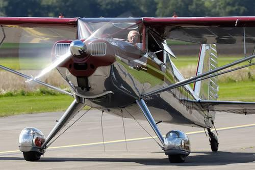 1946 Luscombe Silvaire Antique Classic airplane,