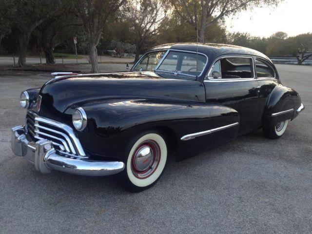 1946 oldsmobile 98 2dr sedanette 43k miles like new un
