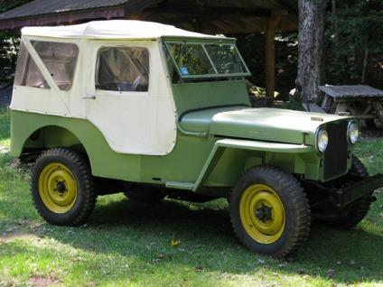 1946 willys jeep cj 2a original free shipping for sale in lincoln nebraska classified. Black Bedroom Furniture Sets. Home Design Ideas