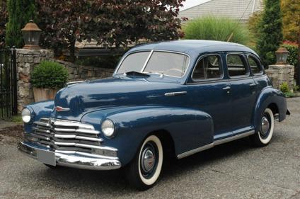 1947 Chevrolet Fleetmaster 4 Door Deluxe Sport Sedan For