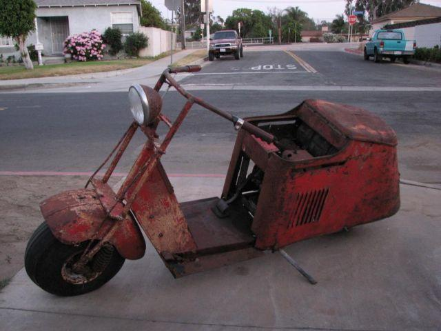 1947 Cushman Scooter Real Barn Find for Sale in Whittier ...
