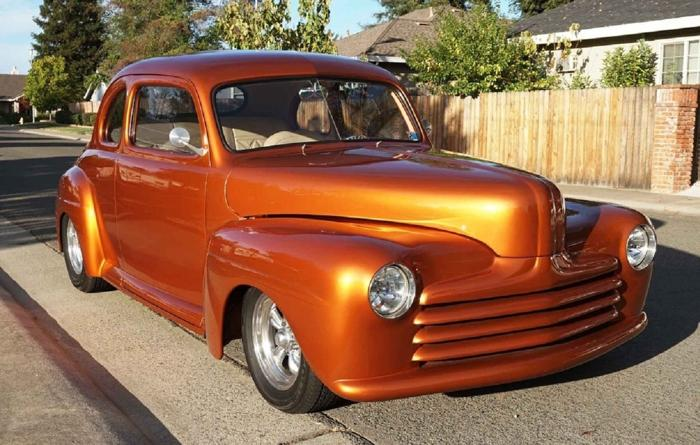 1947 Ford Coupe Street Rod Chevy
