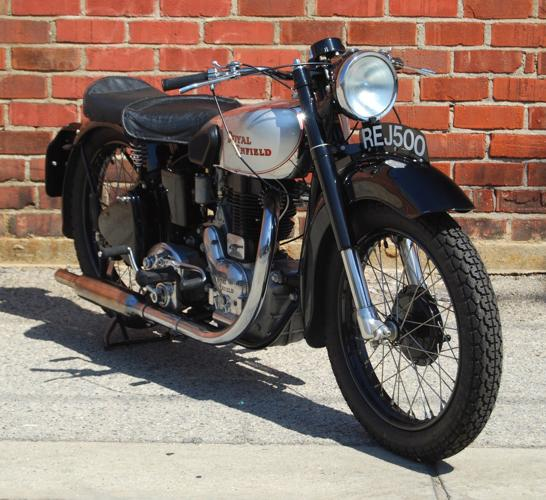 1947 Royal Enfield Model J 500cc Silver