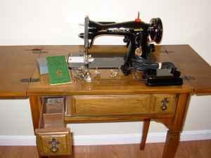 1947 singer sewing machine w cabinet completely refurbished king george fredericksburg. Black Bedroom Furniture Sets. Home Design Ideas