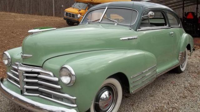 1948 chevrolet fleetline very nice rust free car good driver for sale in knoxville. Black Bedroom Furniture Sets. Home Design Ideas