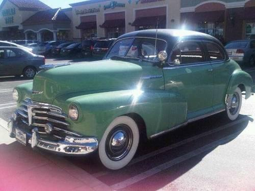 1948 Chevrolet Fleetmaster Deluxe Coupe For Sale In Co
