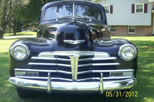 1948 Chevrolet Stylemaster Coupe 3 Speed Straight 6