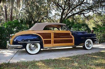 1948 Chrysler Town and Country Woody