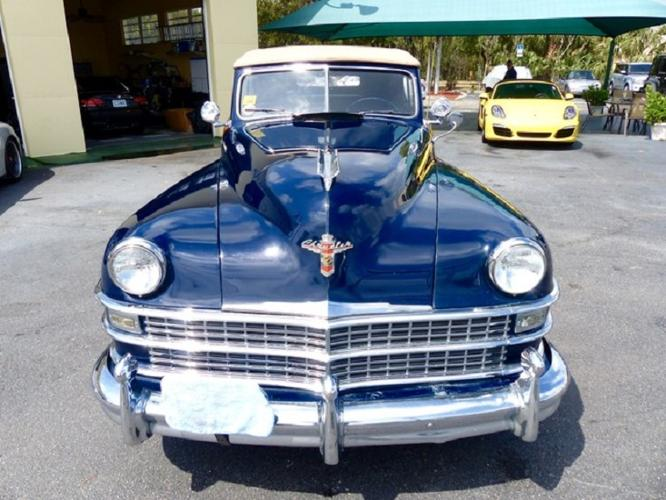 1948 Chrysler Town  Country Convertible 35700
