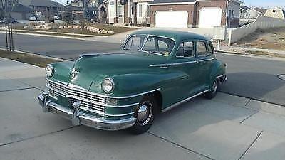 1948 Chrysler Windsor 4 Door Sedan For Sale In Riverton