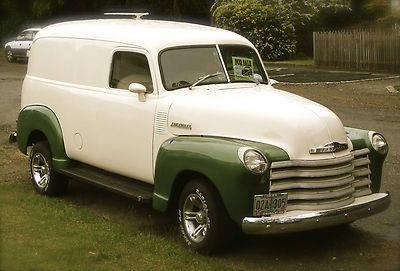 1948 Classic Chevy Panel Van for Sale in Adelma Beach, Washington ...