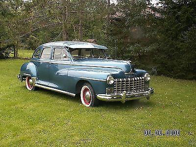1948 dodge 4 door fluid drive sedan for sale in kenosha for 1948 dodge deluxe 4 door