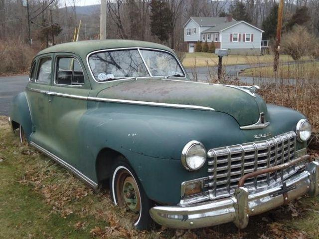 1948 dodge deluxe sedan 4 door for sale in cold spring
