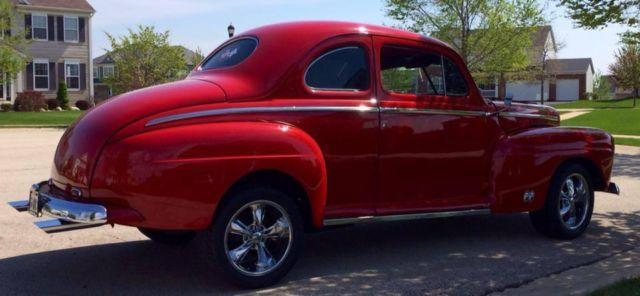 1948 ford, 2 door coupe, hotrod, streetrod