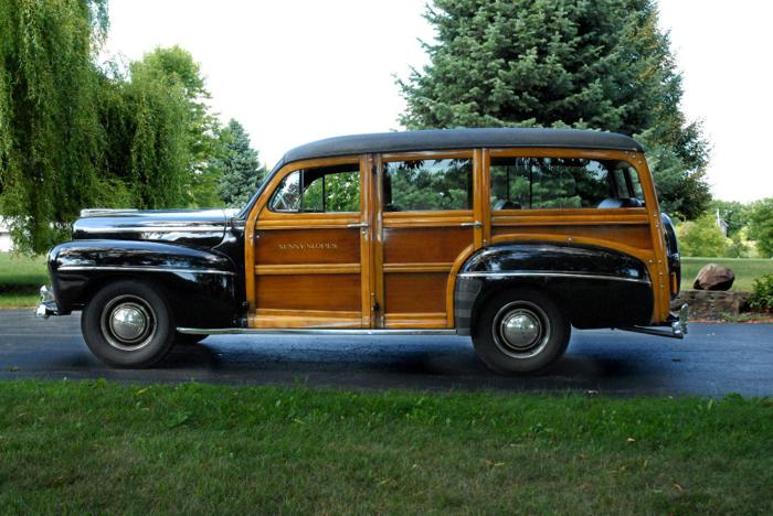 1948 Ford Model 79 Deluxe Station Wagon Woody Woodie