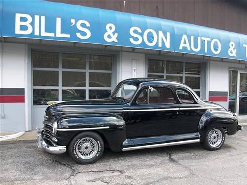 1948 Plymouth Deluxe Business Coupe