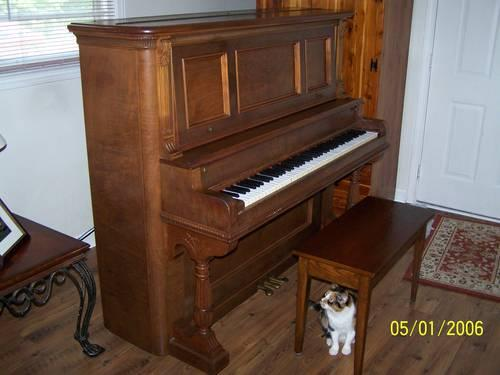 Upright Grand Piano.Upright Grand Piano. . Chappell Traditional ...