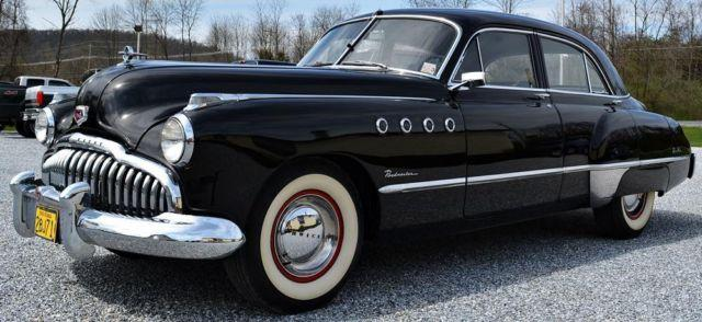 1949 buick roadmaster 56k original miles for sale in. Black Bedroom Furniture Sets. Home Design Ideas