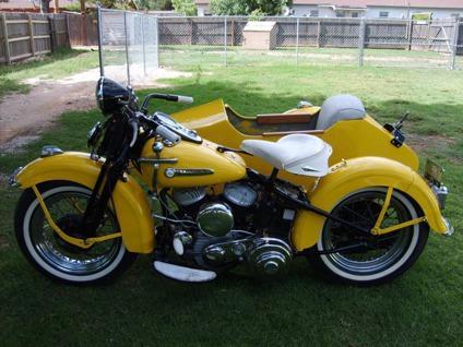 1949 Harley-Davidson Sidecar
