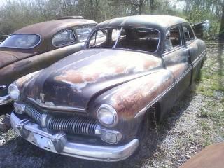 1949 mercury coupe and 1950 4 door sedan for sale in boaz for 1950 mercury 2 door for sale