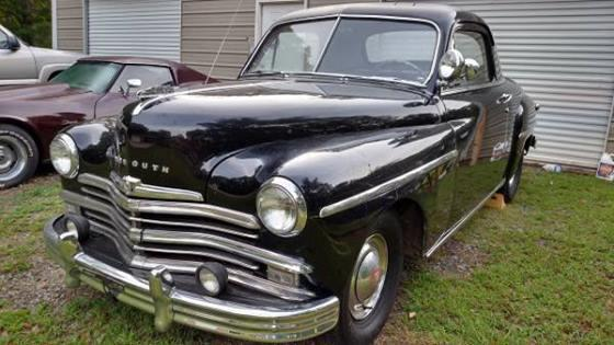 1949 plymouth business deluxe ga for sale in warner. Black Bedroom Furniture Sets. Home Design Ideas