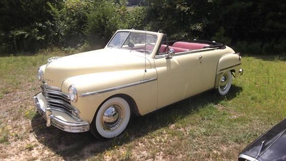 1949 plymouth convertible for sale al for sale in cullman alabama classified. Black Bedroom Furniture Sets. Home Design Ideas