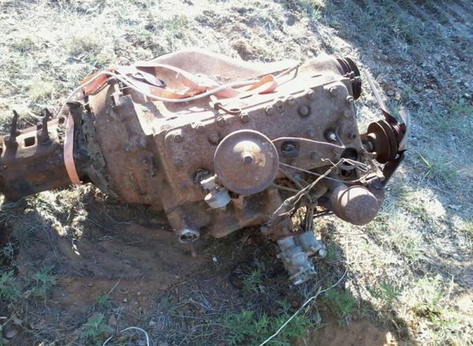 1949 V8 flathead Ford Truck Engine