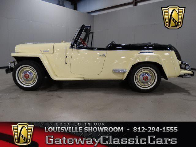 willys jeepster convertible lou  sale  memphis indiana classified