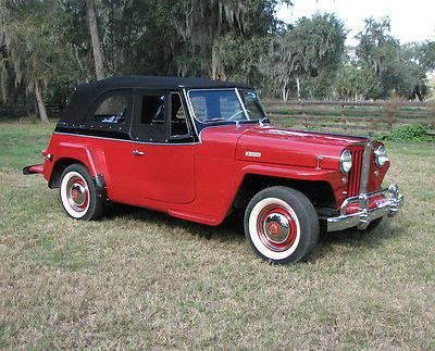 1949 Willys overland Jeepster Rare 6 Cylinder from the ...