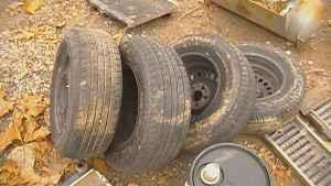 195 70 14 used tires good tires - $70 (collinsville)