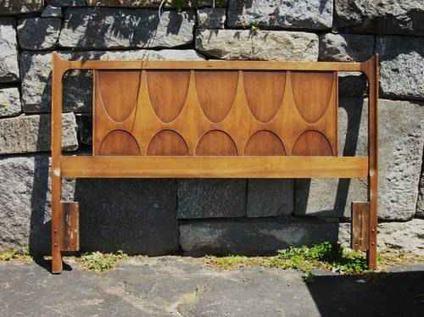 Choice of mid century modern danish headboard free for Mid century modern furniture new york