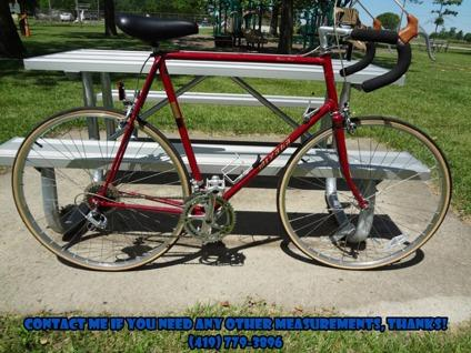 $195 OBO Vintage 1984 Miyata 310 Three Ten Bicycle Bike 12 Speed Burgundy Nice