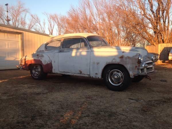 1950 Chevy Fleetline Deluxe 2 Door Hot Rod For Sale In