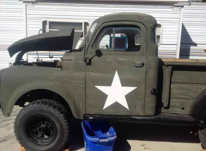 1950 dodge custom pickup for sale in applegate california classified. Black Bedroom Furniture Sets. Home Design Ideas
