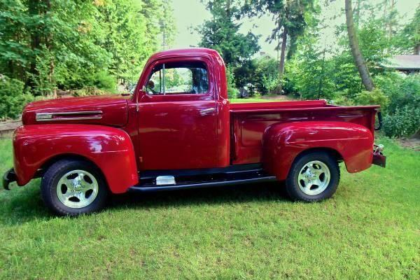 1950 Ford F1 For Sale Wa For Sale In Camano Island