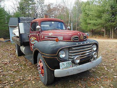 1950 ford f8 flatbed truck for sale in northfield new hampshire classified. Black Bedroom Furniture Sets. Home Design Ideas