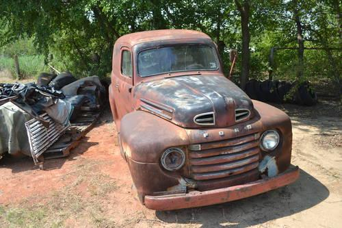1950 ford panel delivery f1 for sale in crescent oklahoma classified. Black Bedroom Furniture Sets. Home Design Ideas