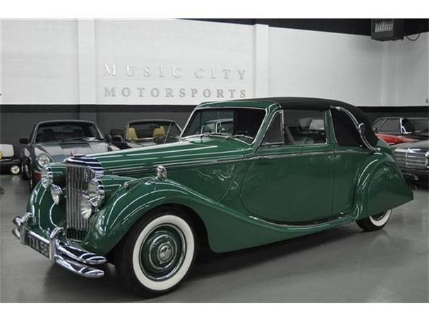 1950 Jaguar Mark V for Sale in Nashville, Tennessee ...