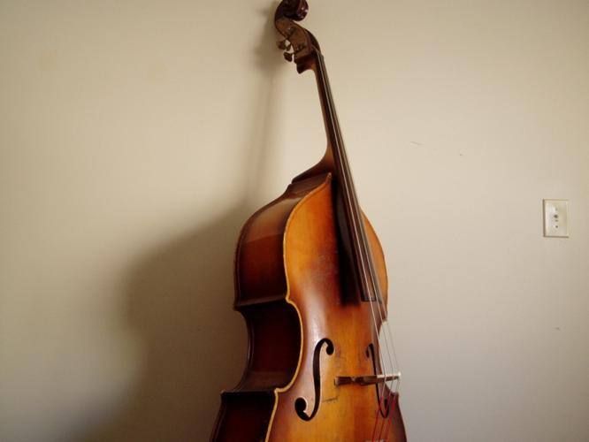 1950 Kay upright bass