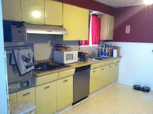 1950u0027s/1960u0027s STEEL CROSLEY Kitchen Cabinets U0026 Original