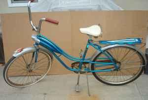 1950'S-60'S WESTERN FLYER COSMIC FLYER BIKE - $125 (S.