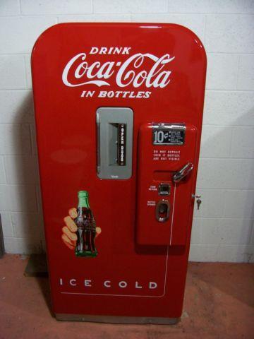 1950 S Antique Coke Vendo V 39 Coca Cola Soda Coin Op