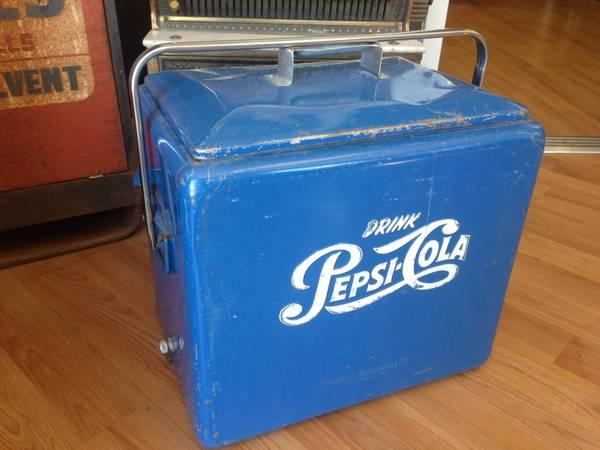 1950's Pepsi Cooler! Great Antiques at SWAG Antiques!!!