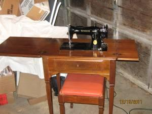 1950's Singer sewing machine w/cabinet and bench - (Southwest ...