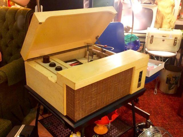 1950's Voice of Music Record Player