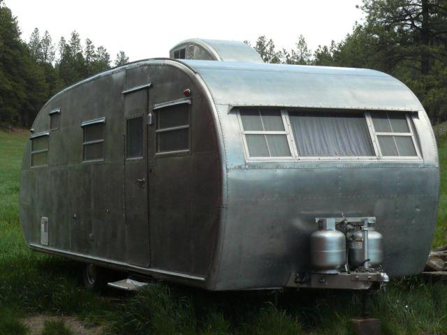 1950 Spartanette 24 Travel Trailer For Sale In Pagosa